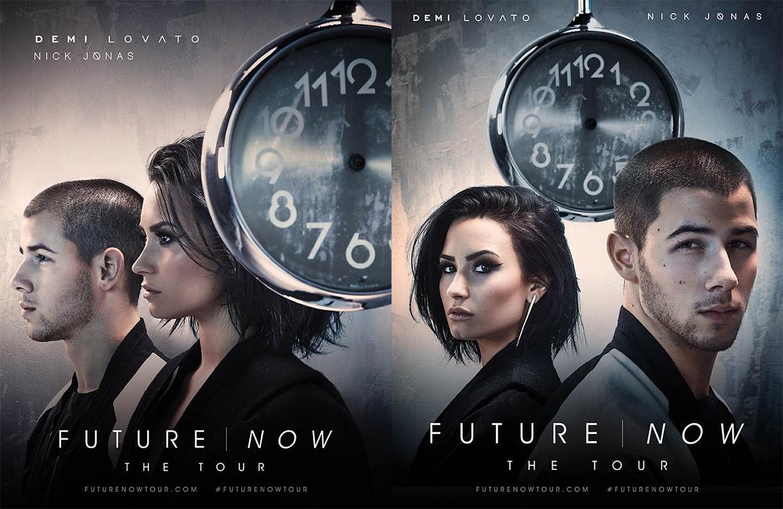 Shot at Quixote: Demi Lovato & Nick Jonas Future Now Tour by Randall Slavin